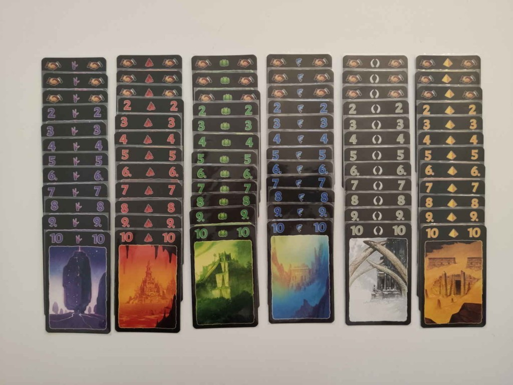 Lost Cities Cartes