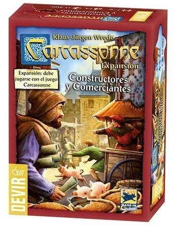 Carcassonne Constructores y Comerciantes Portada