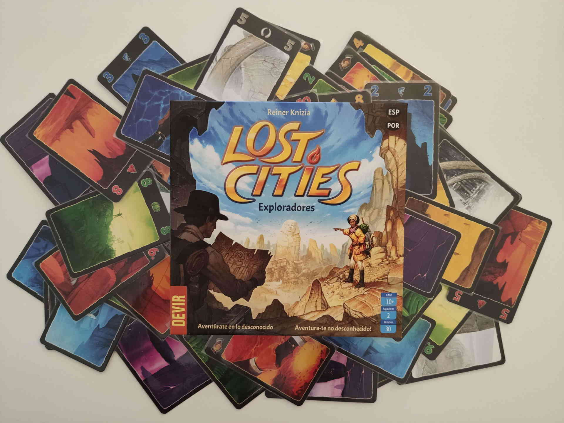 Lost Cities Portada