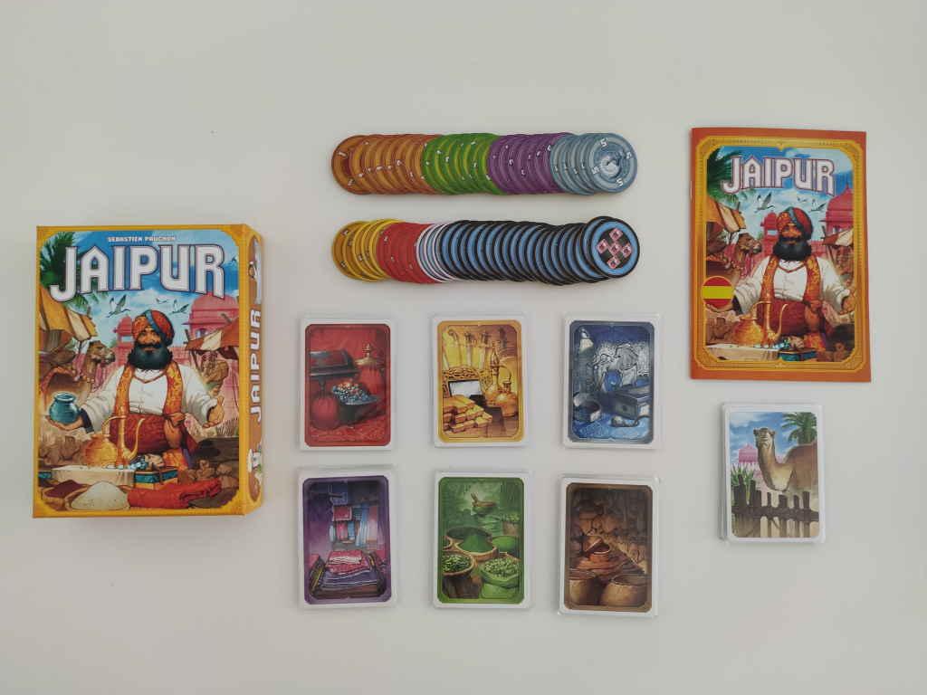 Jaipur contingut